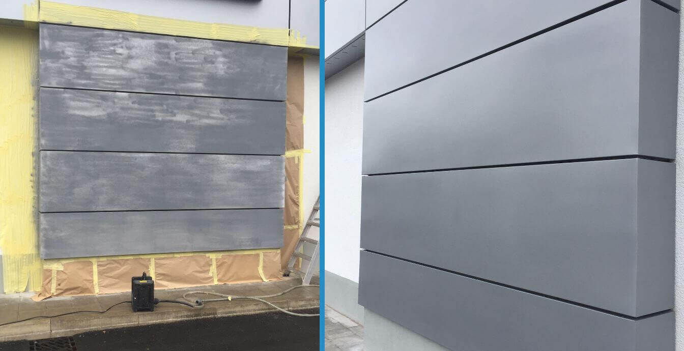 Cladding repairs Widnes