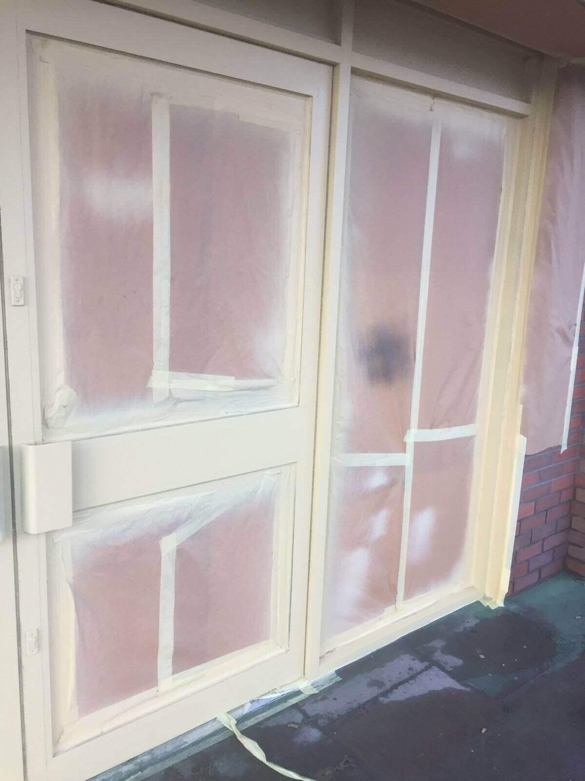 Shop Front & Door Frame Painting in Aberdeen