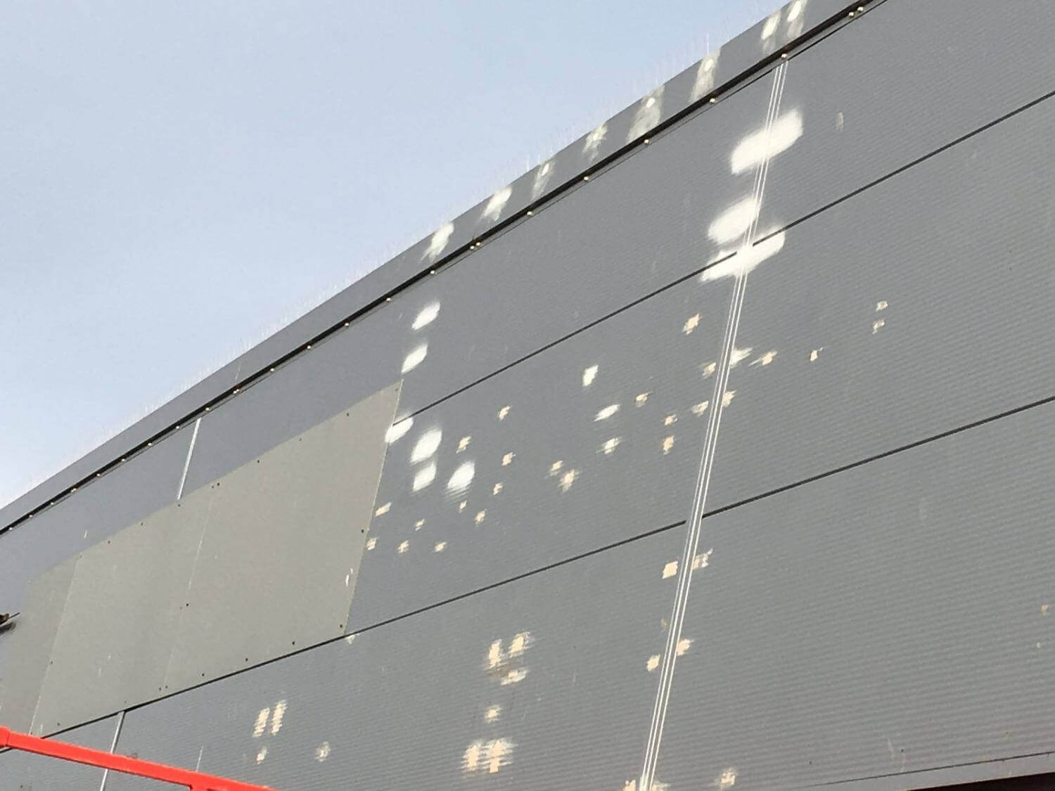 Cladding Repairs and re-Spraying Chichester, West Sussex