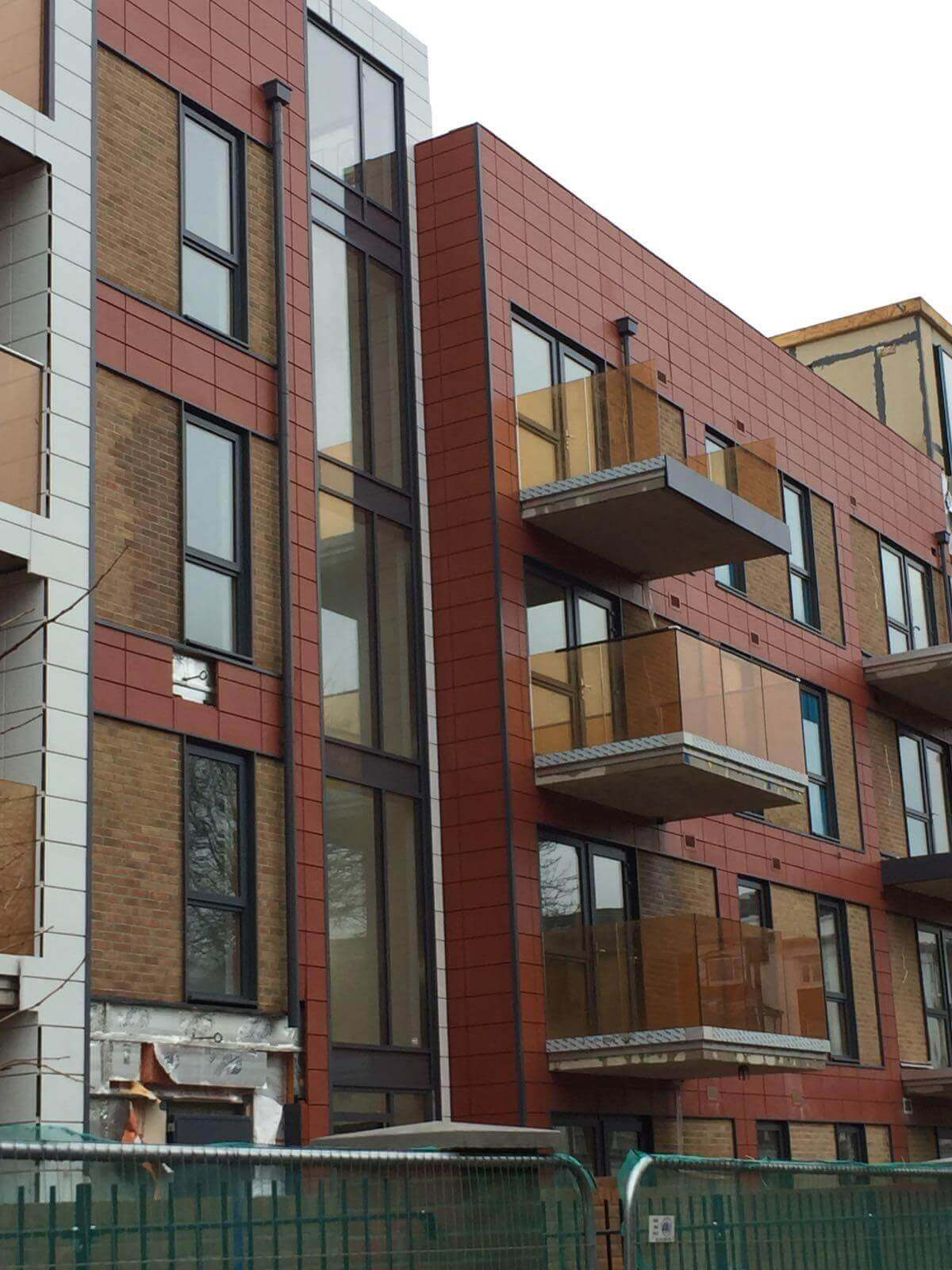 Cladding Panel Paint Colour Change London