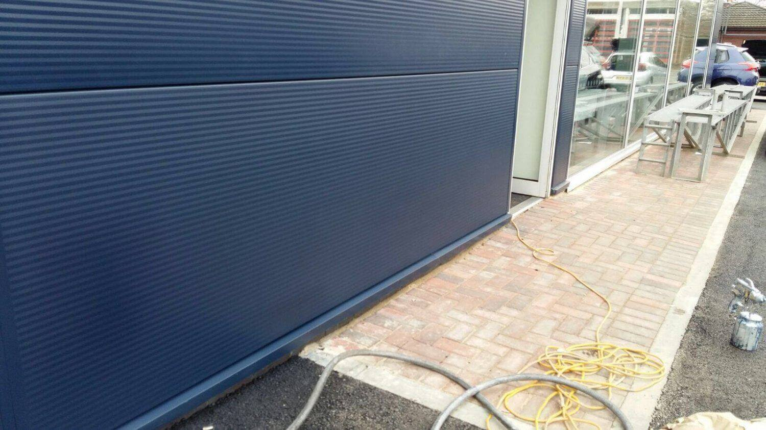 Cladding Repairs and Paint Spraying London