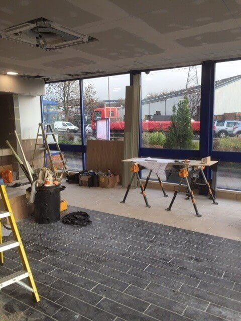 Shop Front Painting Sheffield