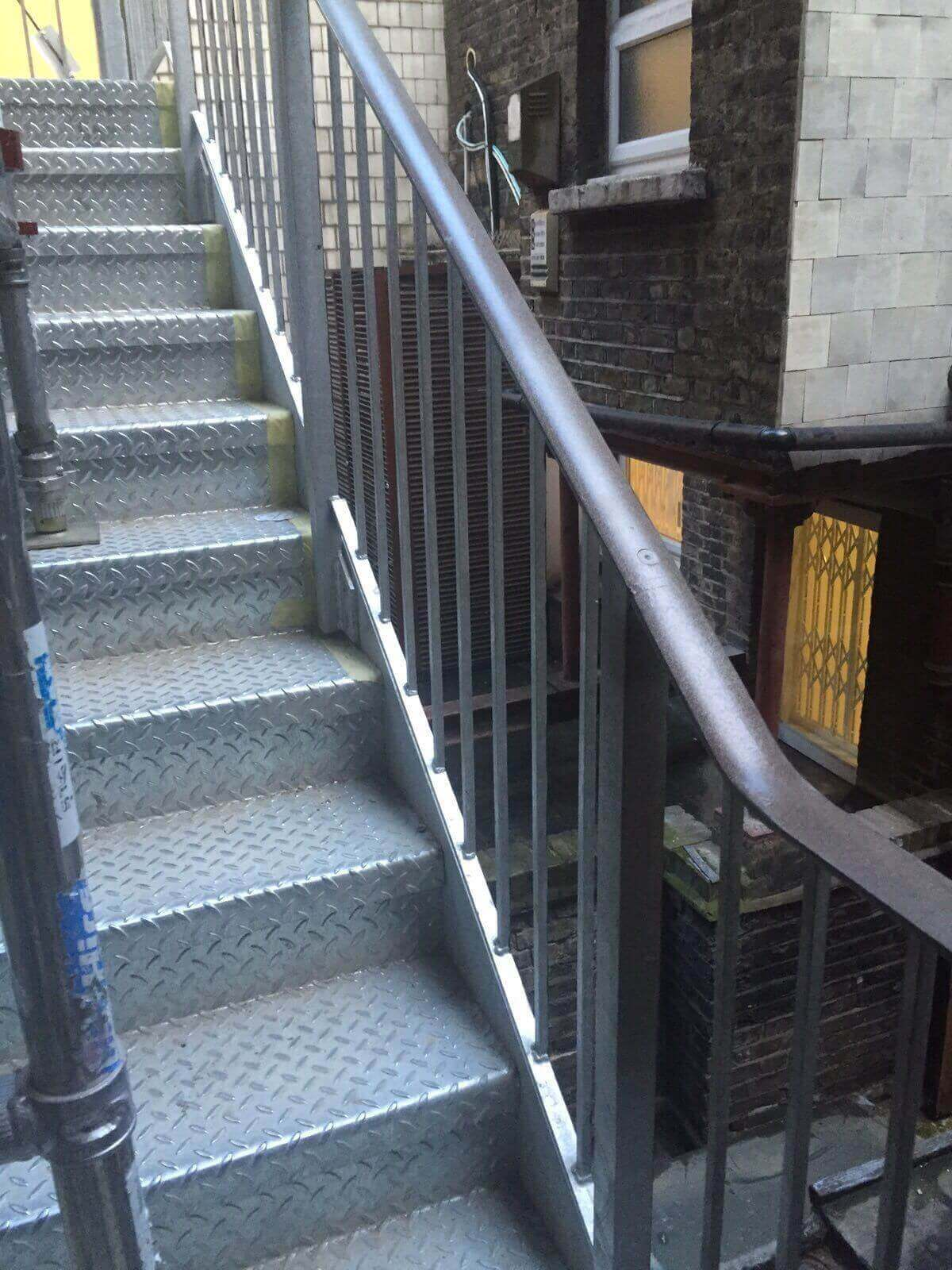 Fire Escape Fire Proof Painting Marlborough Street London