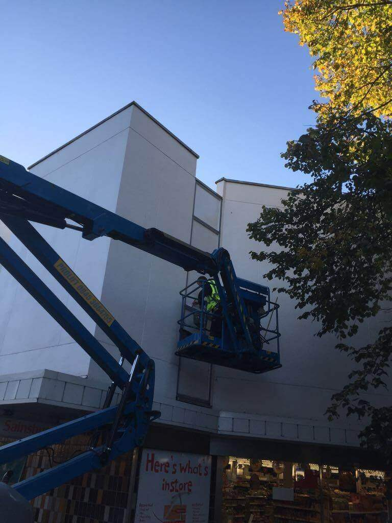 Cladding Paint Spraying and Repairs Bournemouth