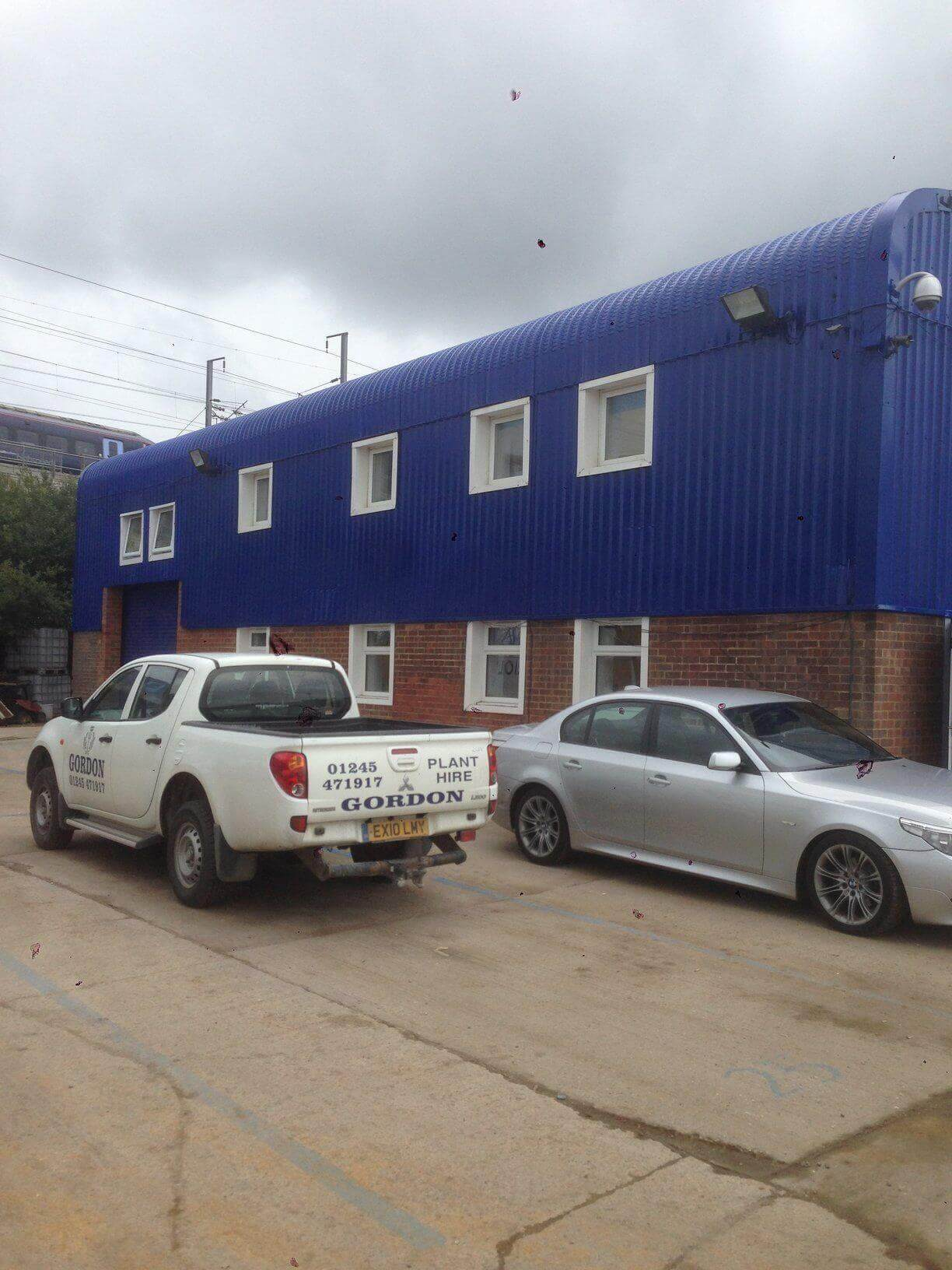 Cladding Repairs & Spraying Purfleet, Essex