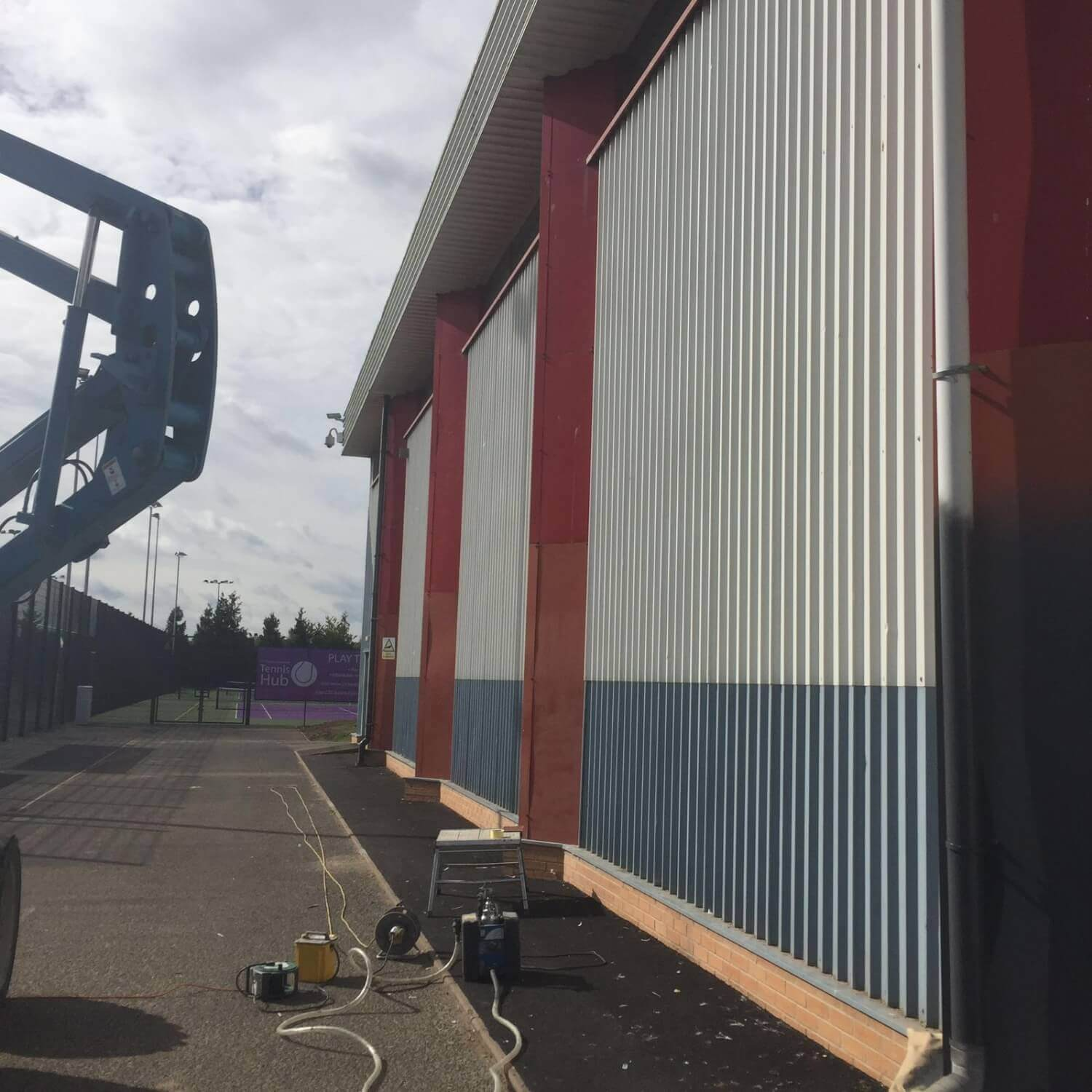Cladding Paint Spraying Birmingham, West Midlands