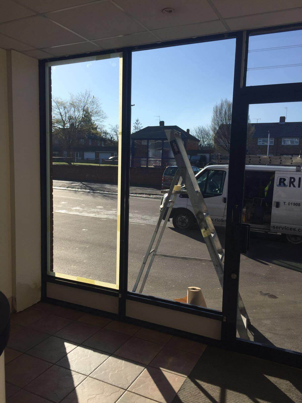 Shop Front & Doors Re-Coating Dunstable, Bedfordshire