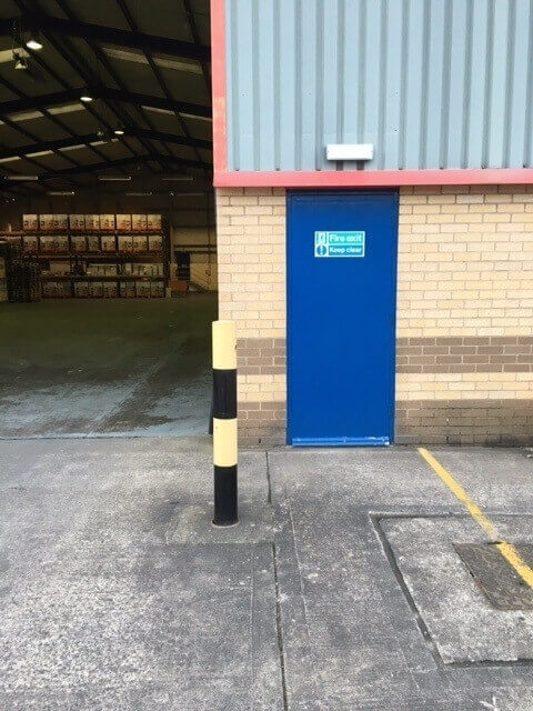 Exit Doors Re-coating Bedford, Bedfordshire