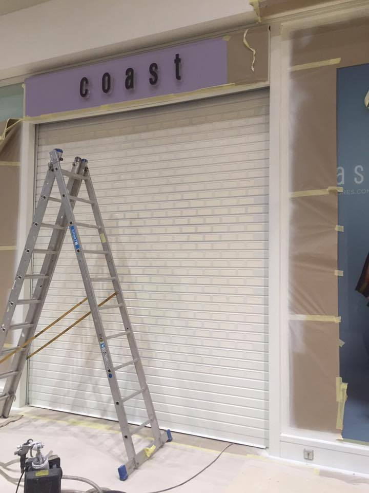 Shop front and shutter Coatings Milton Keynes