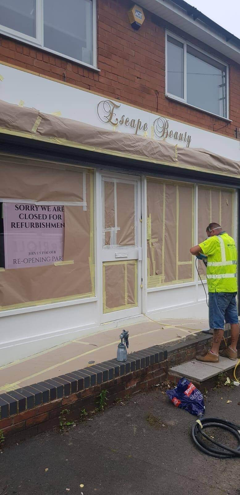 Shop Front Refurbishment Leicester