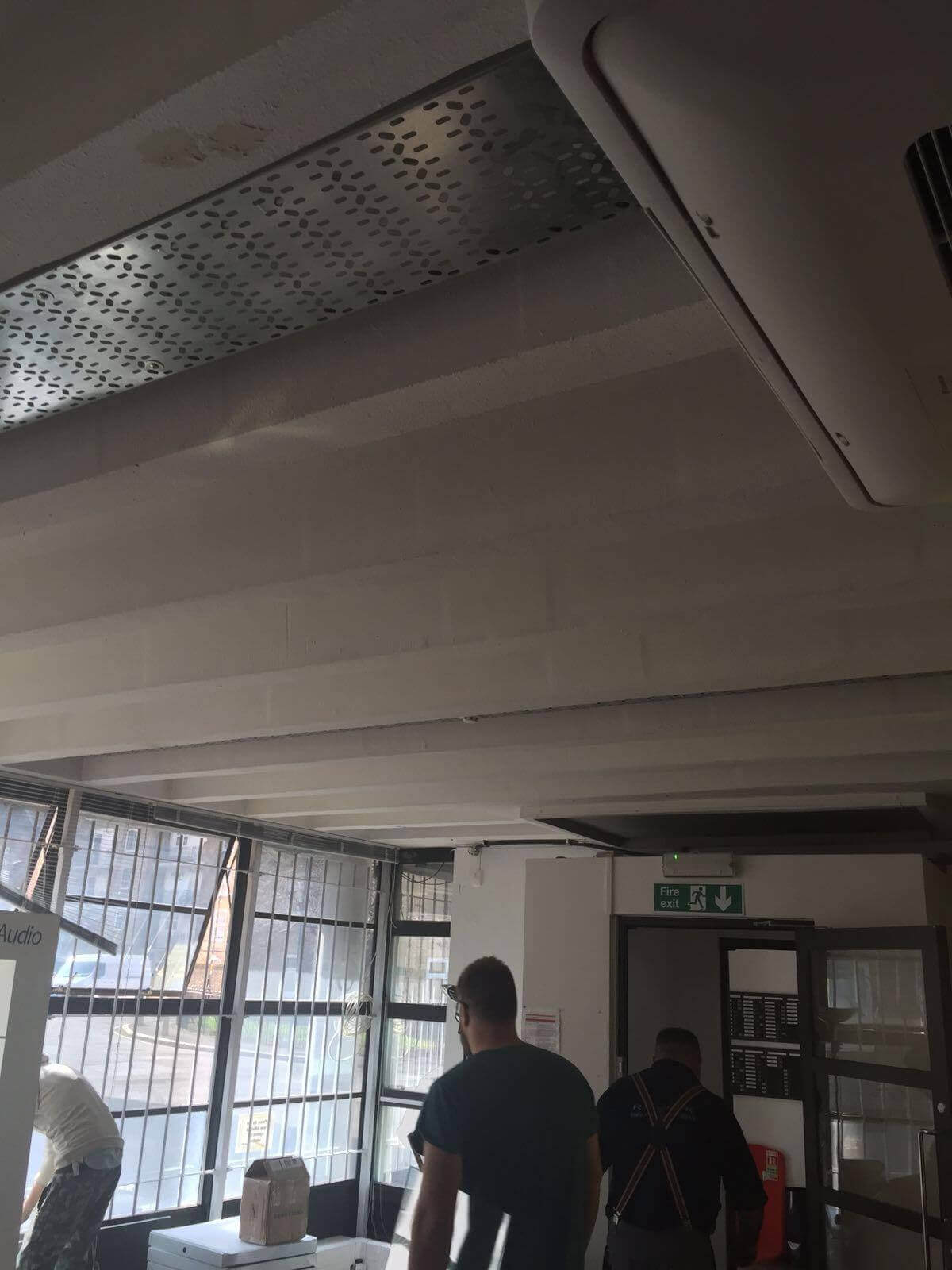 Fire Proof Ceiling Paint Re-Spraying London