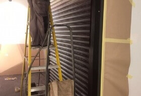 Roller Shutter Colour Change in Milton Keynes, Buckinghamshire