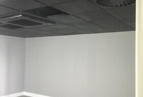Ceilings and Track Re-coating in Luton, Bedfordshire