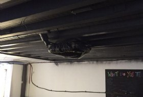 Fire Proof Ceiling Paint Re-Spraying in London