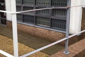 Painting of Metal Rails in Milton Keynes, Buckinghamshire