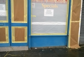 Shop Front Painting London