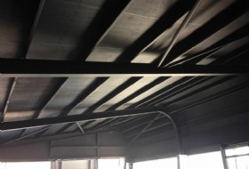 Ceilings And Steel Beam Painting in Banbury, Warwickshire