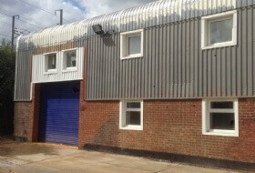 Cladding Repairs & Spraying in Purfleet, Essex