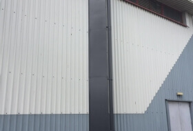 Cladding Paint Spraying in Birmingham, West Midlands