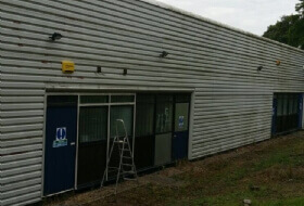 Cladding Repairs & Paint Spraying in Milton Keynes