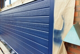 Cladding Repairs and Re-Spraying in Luton, Bedfordshire